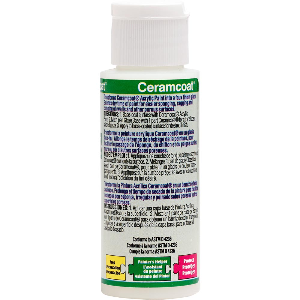 Delta Ceramcoat ® Mediums - Faux Finish Clear, 2 oz.