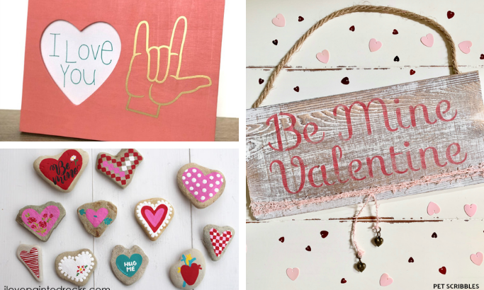 6 Awesome Valentine's Day Projects by Plaid Ambassadors