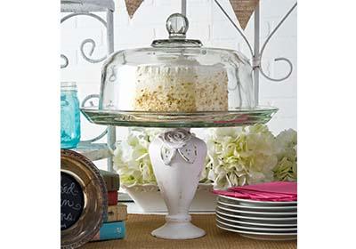 Vase Pedestal Cake Stand