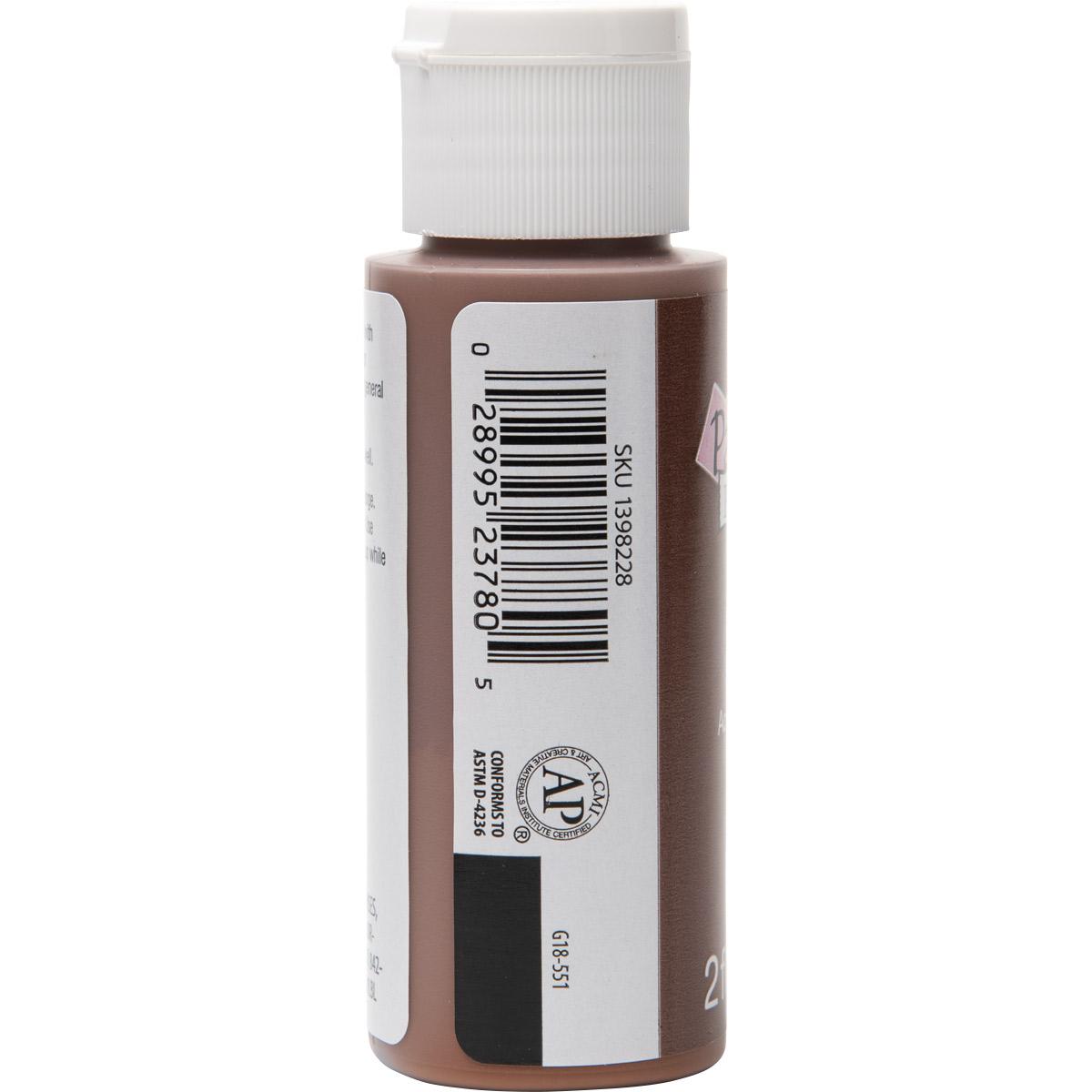 Plaid ® Painter's Palette™ Acrylic Paint - Brown, 2 oz. - 23780