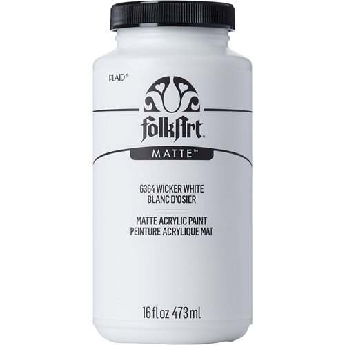 FolkArt ® Acrylic Colors - Wicker White, 16 oz. - 6364