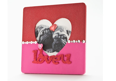 I Love You Valentine Photo Frame