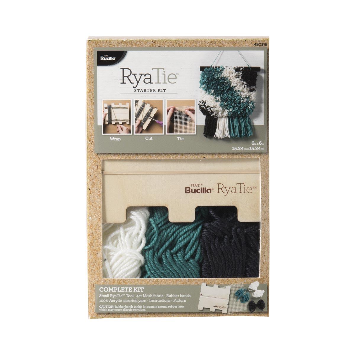 Bucilla ® RyaTie™ Starter Kit