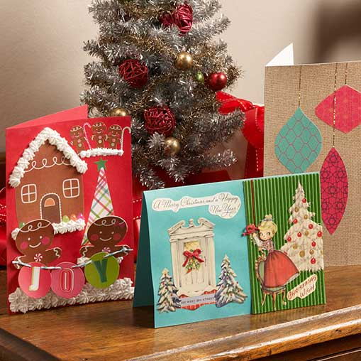 Handmade holiday greeting cards project plaid online handmade holiday greeting cards m4hsunfo