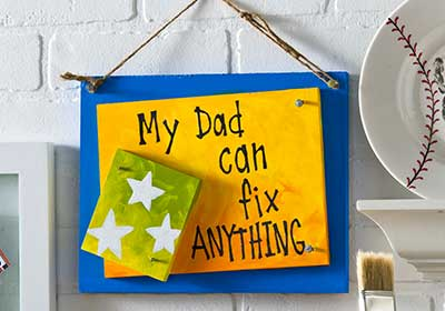 Father's Day Fix-Up Sign