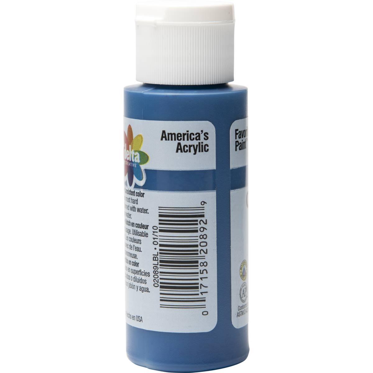 Delta Ceramcoat ® Acrylic Paint - Navy Blue, 2 oz. - 020890202W