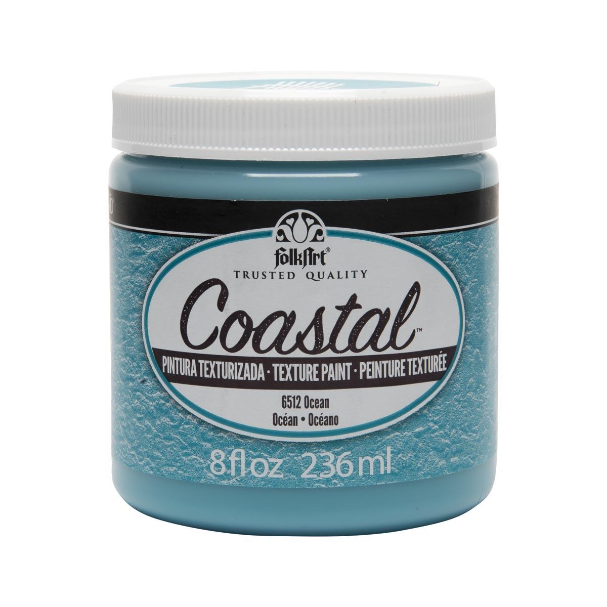 FolkArt ® Coastal™ Texture Paint - Ocean, 8 oz.