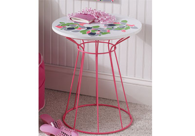 Neon Floral Table