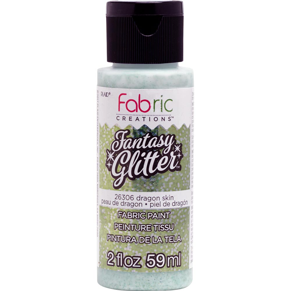 Fabric Creations™ Fantasy Glitter™ Fabric Paint - Dragon Skin, 2 oz.