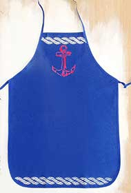 Anchor Apron for Father's Day