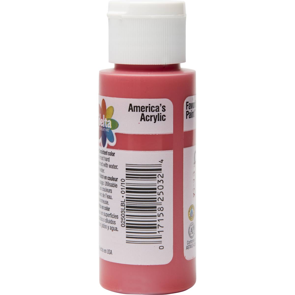 Delta Ceramcoat ® Acrylic Paint - Bright Red, 2 oz. - 025030202W