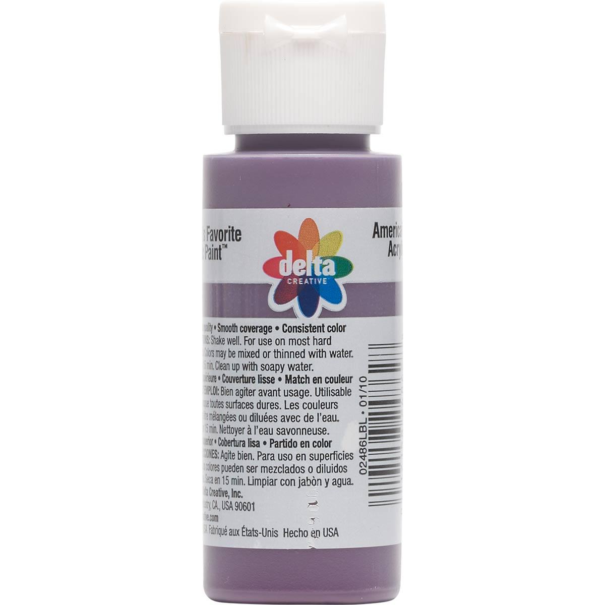 Delta Ceramcoat ® Acrylic Paint - Eggplant, 2 oz. - 024860202W
