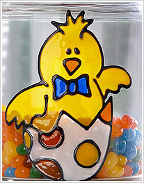 Little Chick Easter Candy Jar