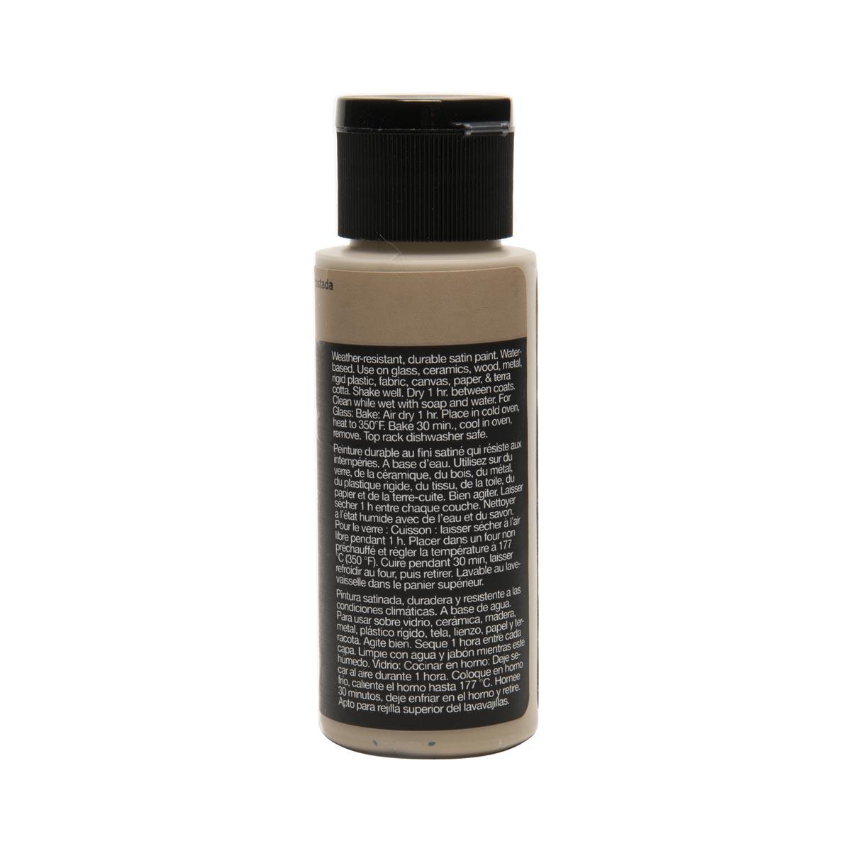 Delta Ceramcoat ® Select Multi-Surface Acrylic Paint - Satin - Trail Tan, 2 oz.