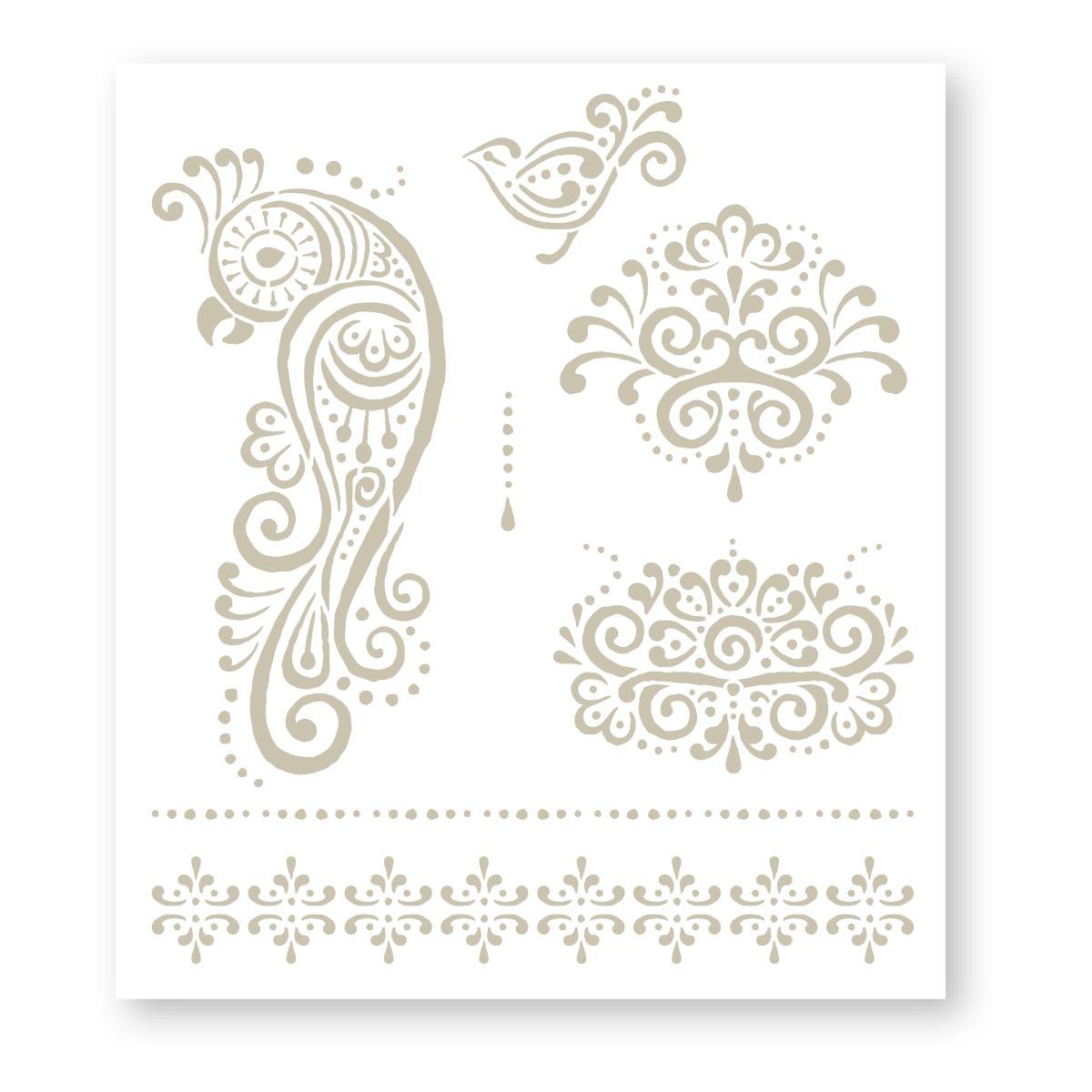 FolkArt ® Handmade Charlotte™ Stencils - Birds - 59798