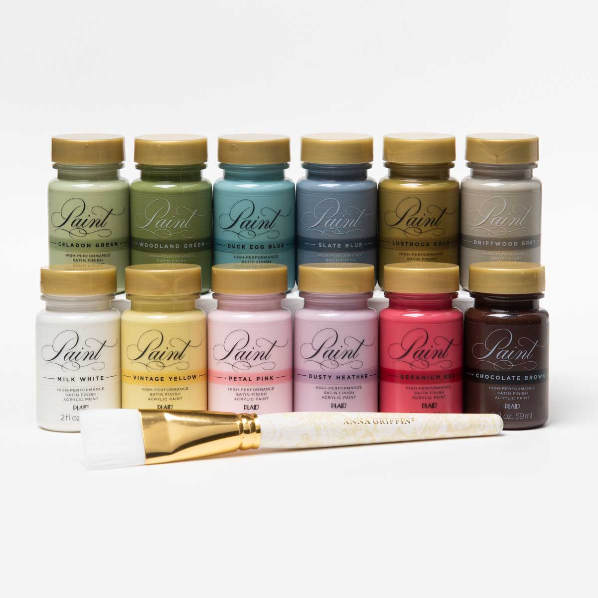 Anna Griffin ® Perfect Palette Multi-Surface Paint Kit