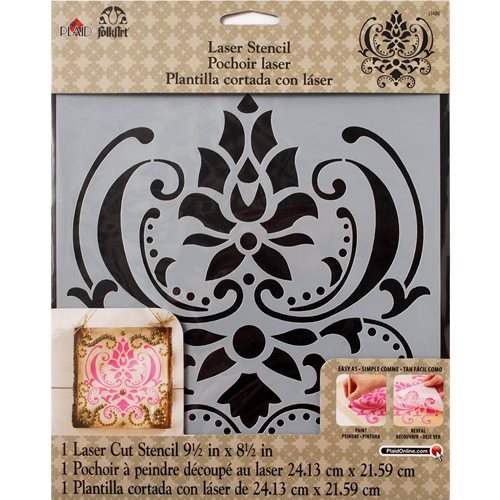 FolkArt ® Painting Stencils - Large - Damask