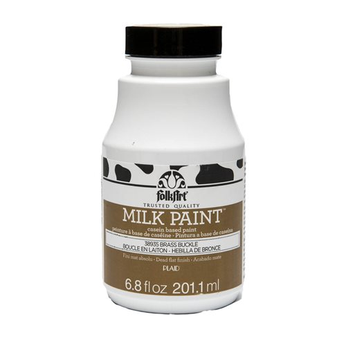 FolkArt ® Milk Paint™ - Brass Buckle, 6.8 oz.