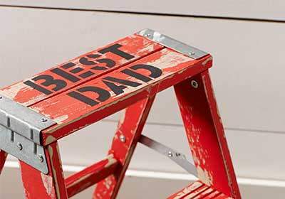 Fun Father's Day Ladder Project