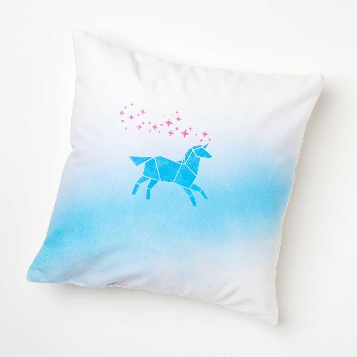 Unicorn Whimsy Pillow