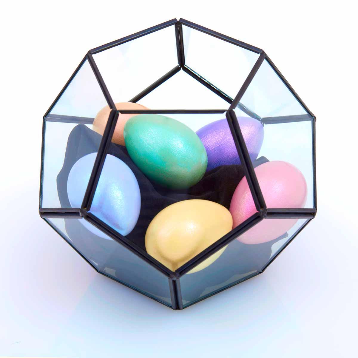 Iridescent Easter Eggs
