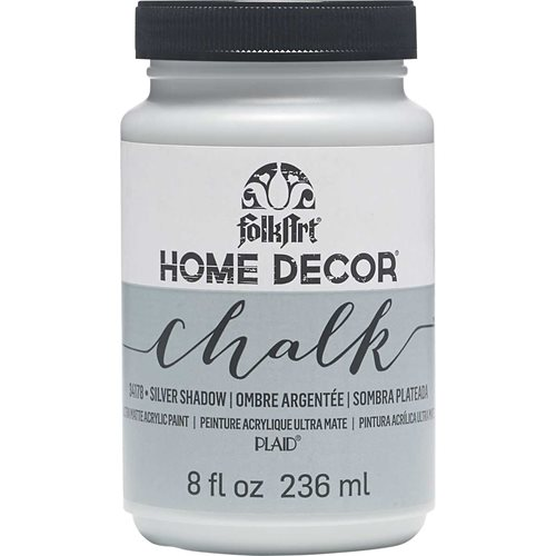 FolkArt ® Home Decor™  Chalk - Silver Shadow, 8 oz. - 34178