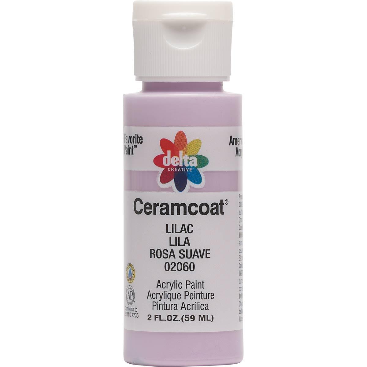 Delta Ceramcoat ® Acrylic Paint - Lilac, 2 oz.