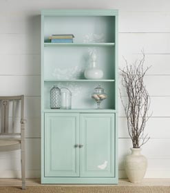 Beach Cottage Chic Cabinet