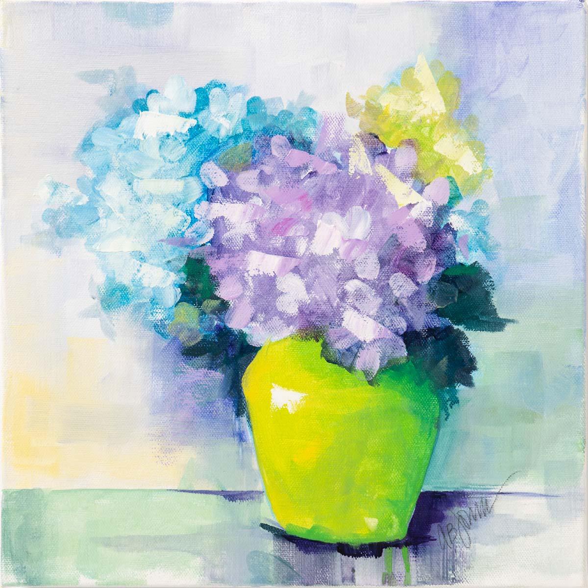 Chartreuse Vase