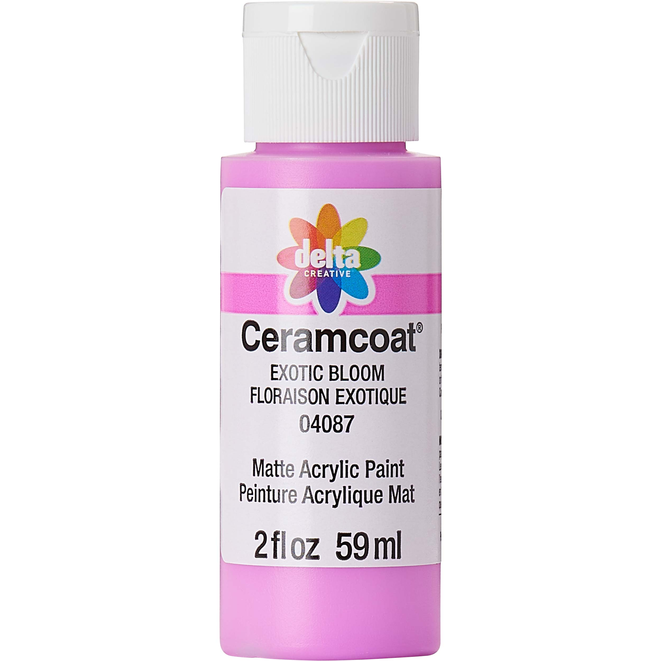 Delta Ceramcoat ® Acrylic Paint - Exotic Bloom, 2 oz.
