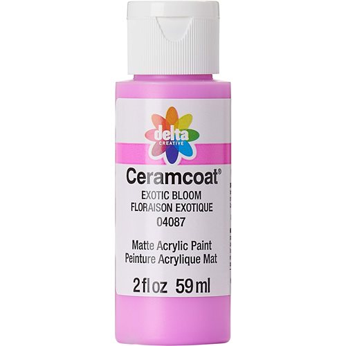 Delta Ceramcoat ® Acrylic Paint - Exotic Bloom, 2 oz. - 04087