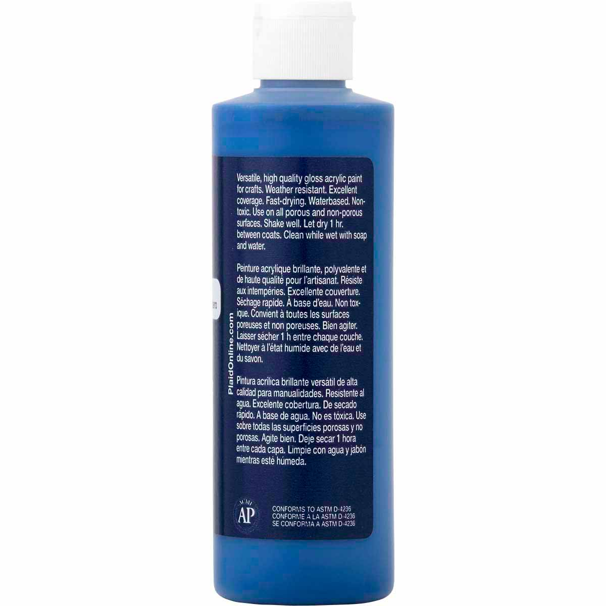 Apple Barrel ® Colors - True Navy, 8 oz. - K2616
