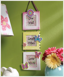 Butterflies and Flowers Frames