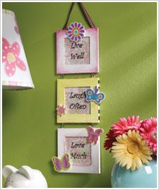 Butterflies and Flowers Frames