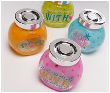 Handmade With Love Jars