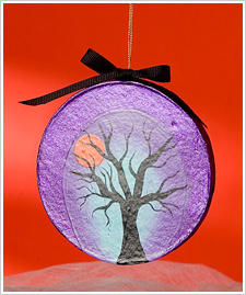 Spooky Tree Ornament