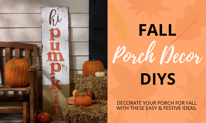 Fall Porch Decor DIYs
