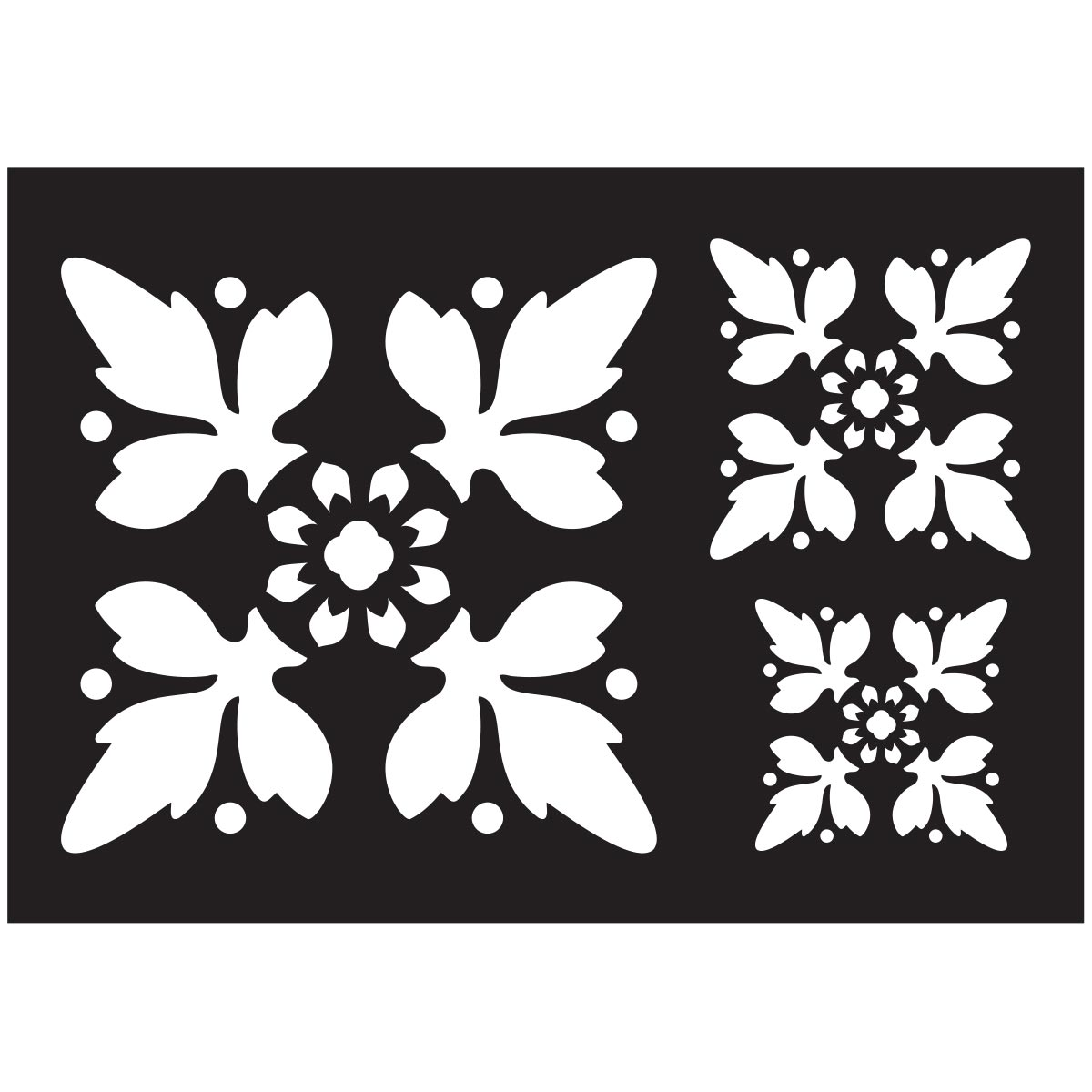FolkArt ® Painting Stencils - Tile Motif
