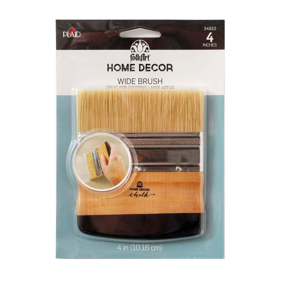 Shop plaid folkart home decor brushes wide brush for Home interior products online