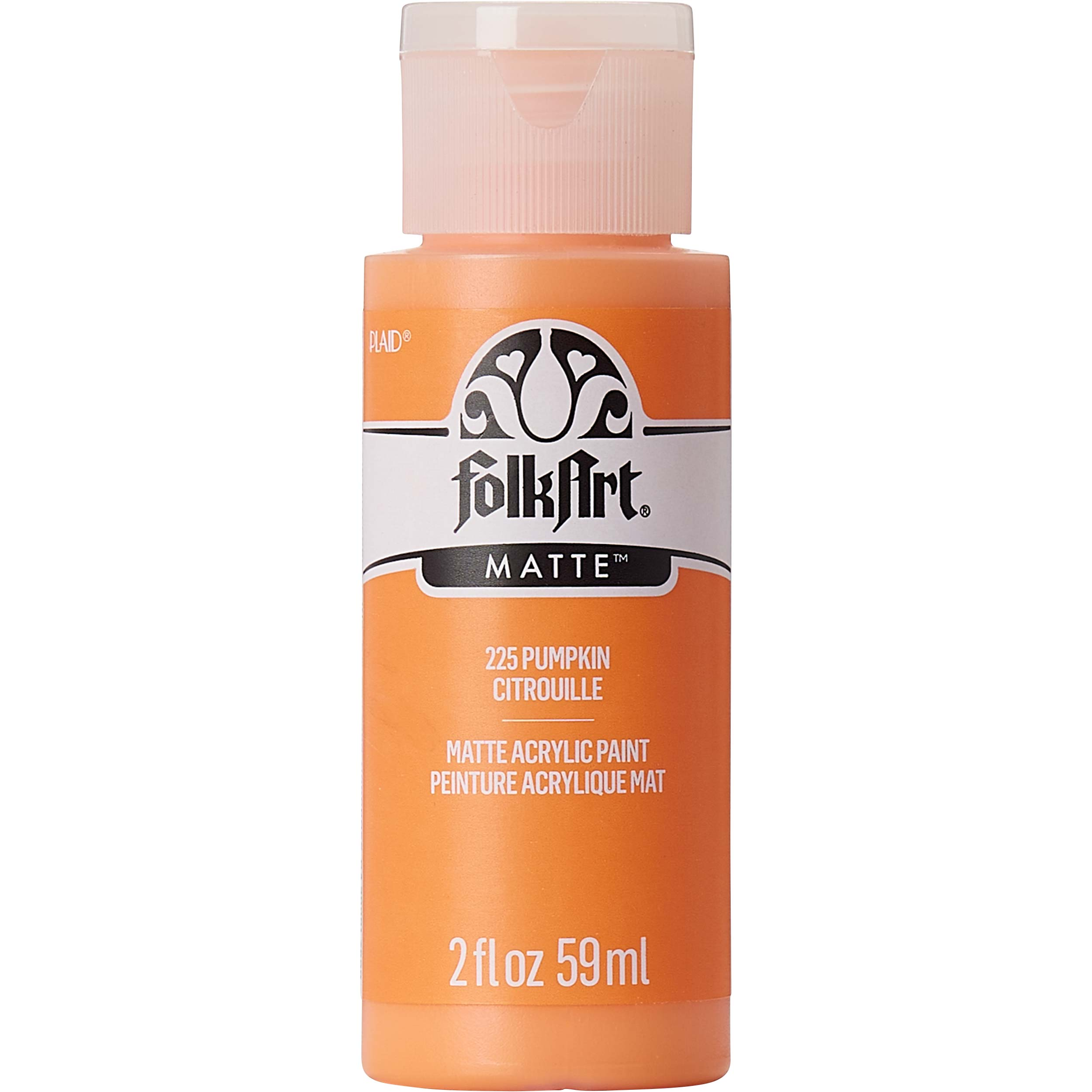 FolkArt ® Acrylic Colors - Pumpkin, 2 oz. - 225
