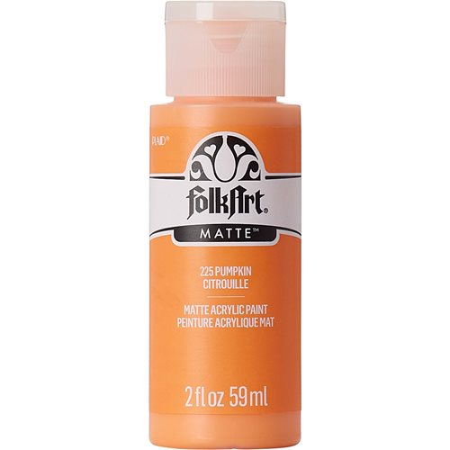 FolkArt ® Acrylic Colors - Pumpkin, 2 oz.