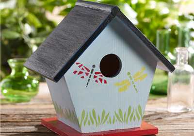 Dragonfly Birdhouse