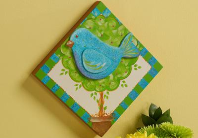Bird Topiary Panel