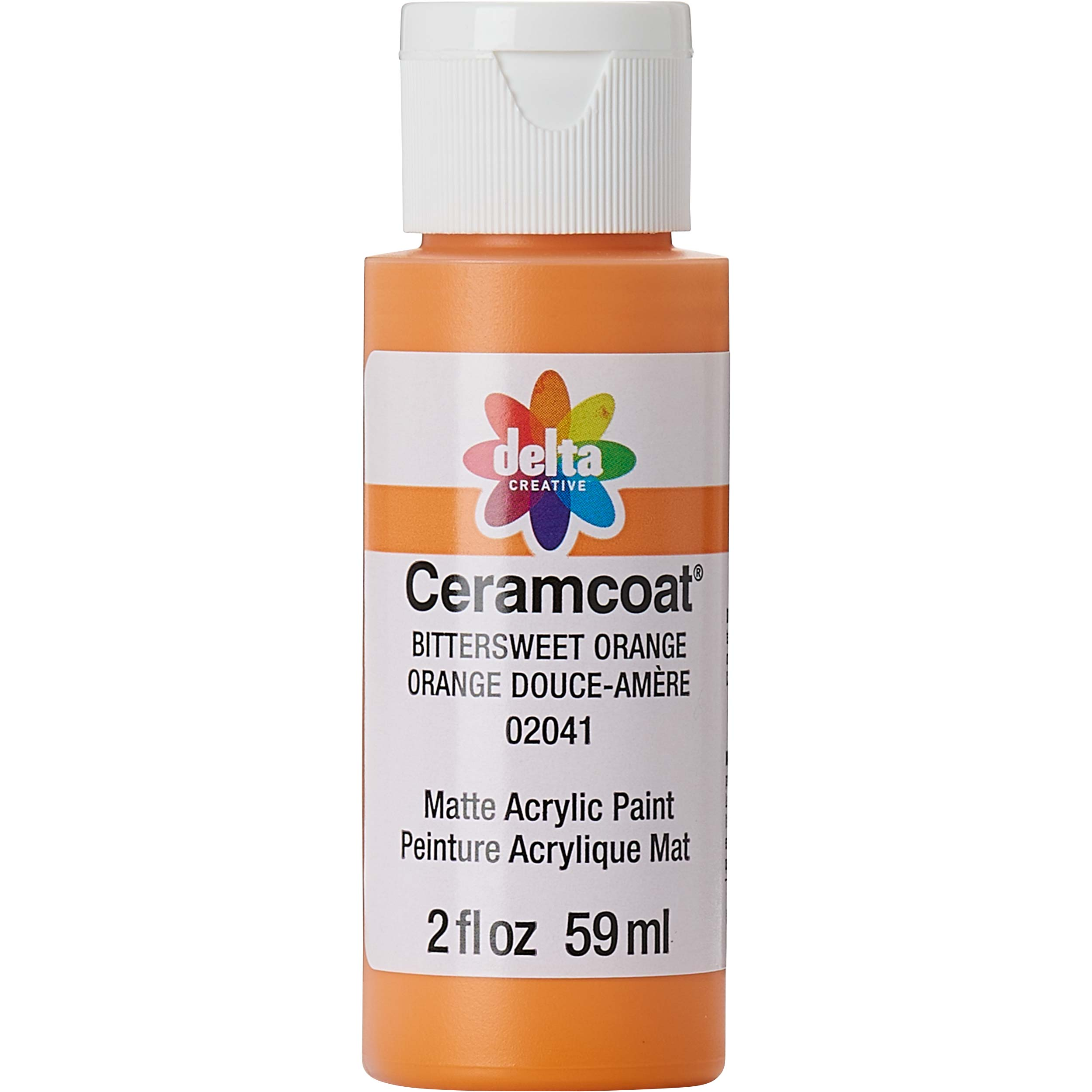 Delta Ceramcoat ® Acrylic Paint - Bittersweet Orange, 2 oz.