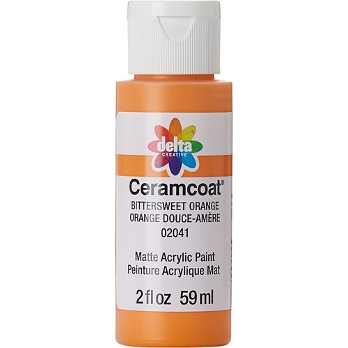 Delta Ceramcoat ® Acrylic Paint - Bittersweet Orange, 2 oz. - 020410202W