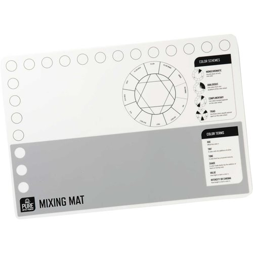 FolkArt ® Pure™ Artist Pigment Silicone Mixing Mat - 99451