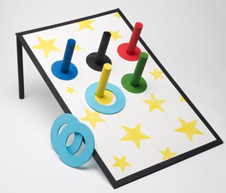 Olympic Crafts for Kids - Ring Toss