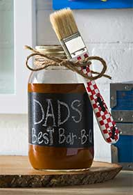 Father's Day Barbeque Jar Just for Dad