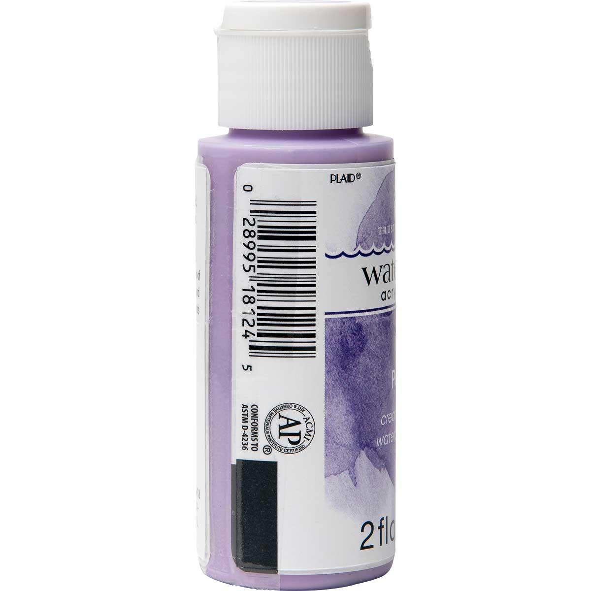 FolkArt ® Watercolor Acrylic Paint™ - Purple, 2 oz.