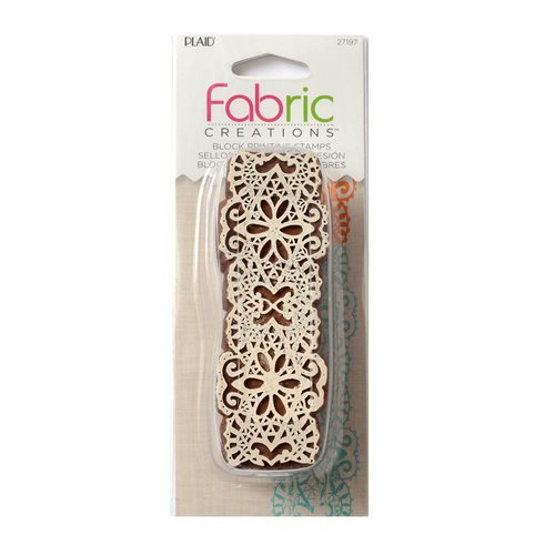 Fabric Creations™ Block Printing Stamps - Border - Lace